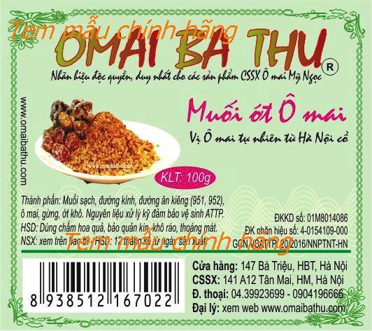Omai ba thu